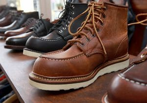 Handmade Work Boots - A Typical Pair of Fashionable Work Boots
