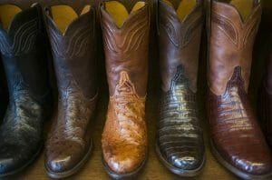 Handmade Leather Boots - Selection of Leather Cowboy Boots