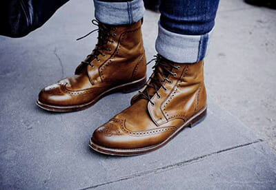 Handmade Work Boots - Men's Fashion Work Boots