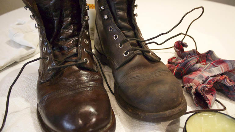 Leather Boot Care - Taking Care of Your handmade Leather boots