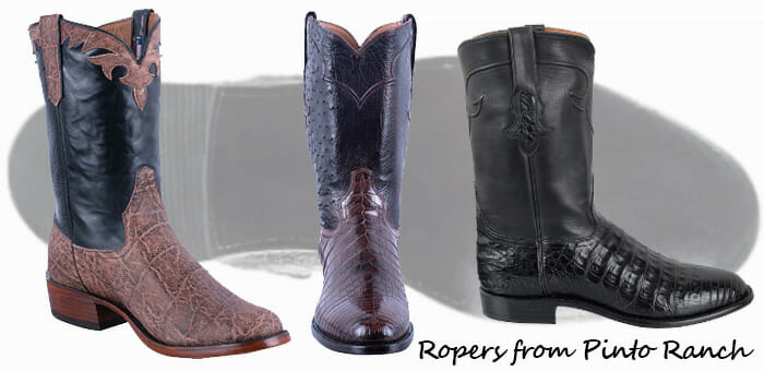 Roper Cowboy Boots - Great selection of Roper Boots from Pinto Ranch!