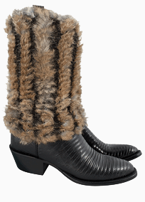 Boot Stuff And Accessories - Pat Dahnke Fur Boot Toppers