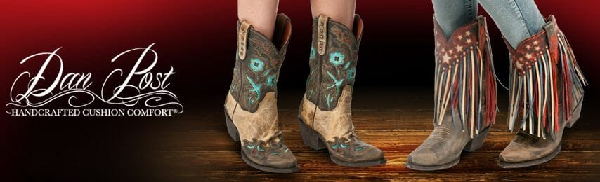 Dan Post Women Boots - 2 Pairs of Beautiful Dan Post Ladies Boots