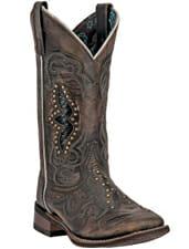 Snakeskin Cowboy Boots Women - laredo womens spellbound boots