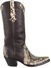 Snakeskin Cowboy Boots Women - stallion snakeskin boot women