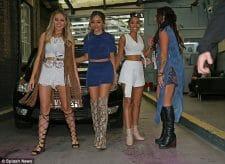 Snakeskin Cowboy Boots Women - Some ladies wearing snakeskin boots