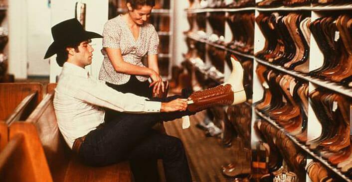 Exotic Cowboy Boots - John Travolta