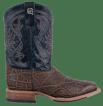 Cowboy Boots Boys - ANDERSON BEAN KIDS TERRA VINTAGE ELEPHANT PRINT KIDS COWBOY BOOTS