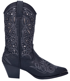 Dingo Annabelle Ladies Biker Boots
