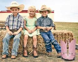 Kids handmade Boots