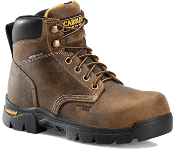 Womens Leather Work Boots - Women's Work Boots - Carolina Womens Work Comp Toe Boot
