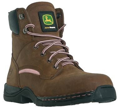 John Deere Nevada Hiker - Womens Leather Work Boots