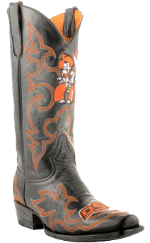 college logo cowboy boots - Fanatics Oklahoma State Cowboys Mens Original Embroidered Boots