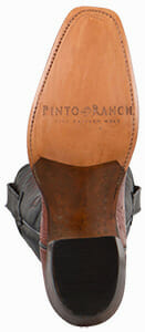 Women's Exotic Skin Cowboy Boots - RIOS OF MERCEDES WOMEN'S ALMOND AMERICANO SMOOTH OSTRICH BOOTS