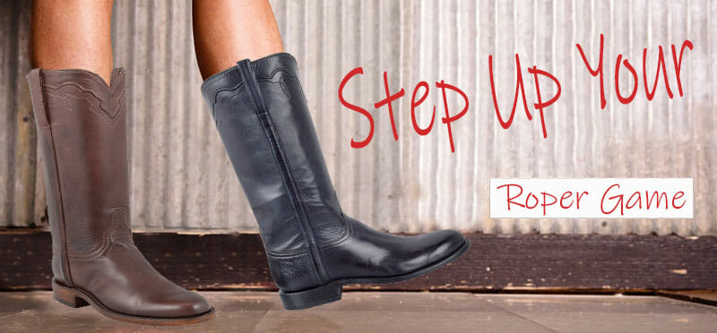 Womens Roper Cowboy Boots - Step Up Your Roper Cowgirl Boots Game