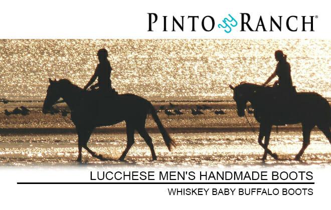 Lucchese Handmade Baby Buffalo Men's Cowboy Boots