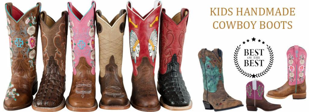 Kids Handmade Cowboy Boots