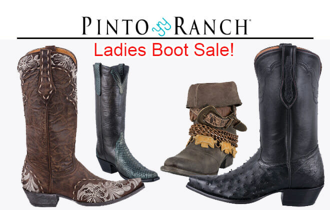 Ladies Boot Sale Discount Cowgirl Boots