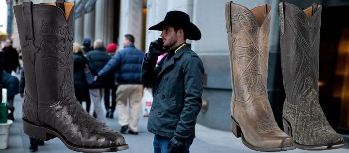American Made Cowboy Boots Men - Urban cowboy with some American Made Cowboy Boots