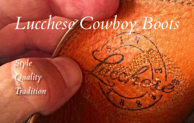 Lucchese Cowboy Boots - Quality Handmade Western boots