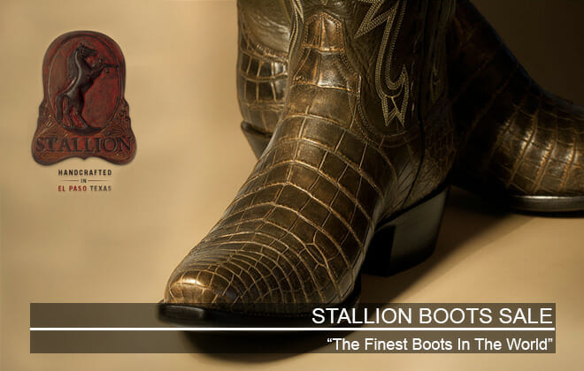 Stallion Boot Sale - Featured Image