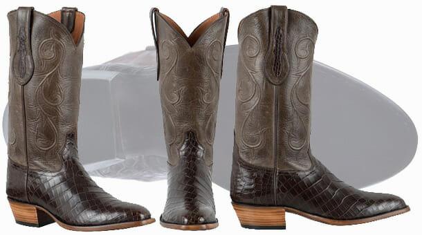 Tony lama Cowboy Boots Sale - Nile Crocodile Boots