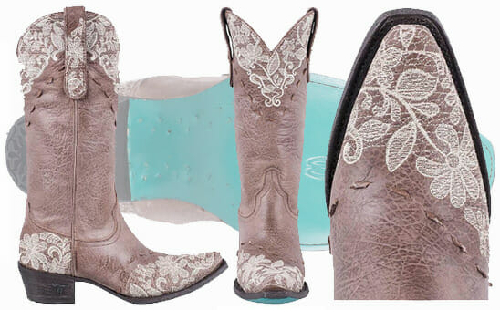 Best Women's Cowboy Boots - LANE WOMENS TAUPE