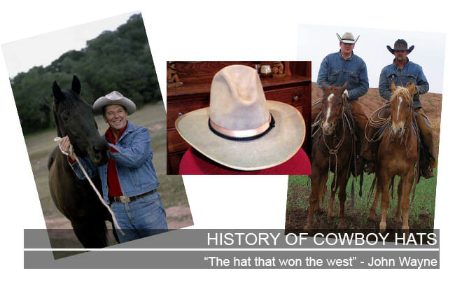 History of Cowboy Hats Featured