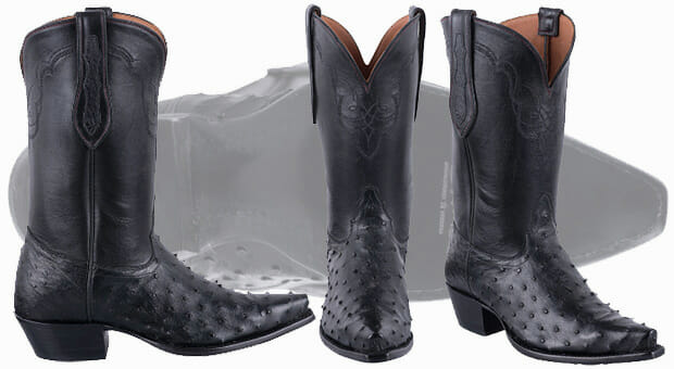 Ladies Cowgirl Boots Sale - Tony Lama Full Quill Ostrich Boots