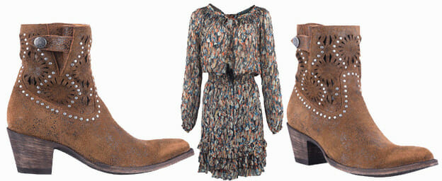 Dresses You Can Wear With Cowboy Boots - OLD GRINGO WOMEN'S RUST RAEVYN ROXY SHORT BOOTS