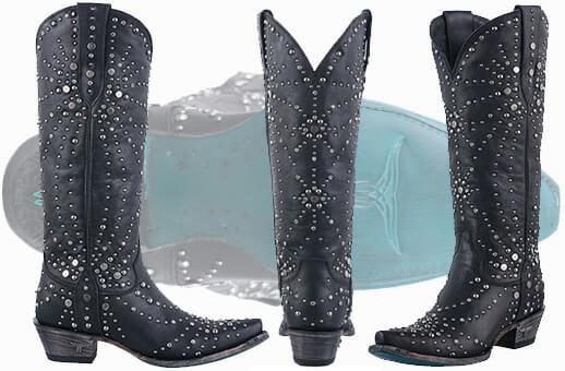 Sexy Cowgirl Boots - Rhinestone Cowboy Boots By Lane Boots