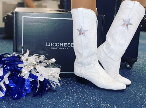 Lucchese Boots Official Boot of The Dallas Cowboy Cheerleaders