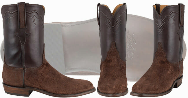 Exotic Cowboy Boots - Lucchese Hippo Ropers