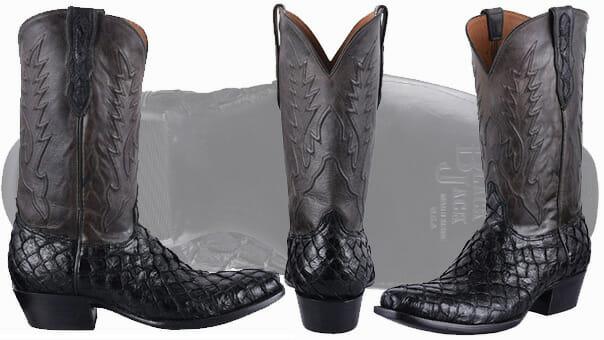 Exotic Cowboy Boots - Pirarucu Boots