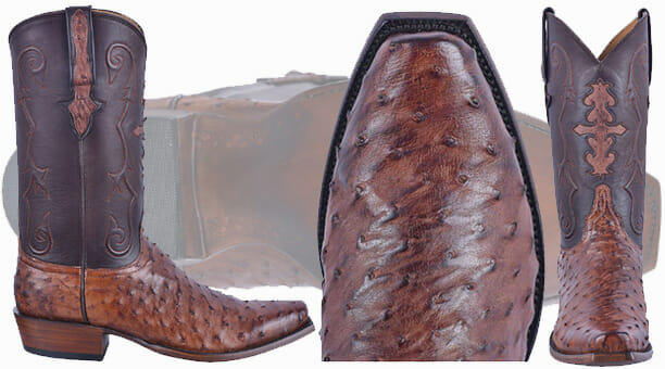 Lucchese Boot Review - Chocolate Full Quill Ostrich