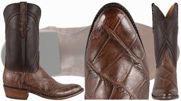 Lucchese Boot Review - Chocolate Wild Gator