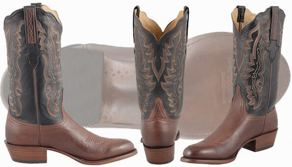 Lucchese Handmade Boots - Whiskey Baby Buffalo Boots
