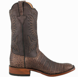 Rios Mercedes Boots Sale - Chocolate Suave Caiman Boots