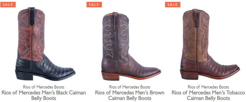 Rios Mercedes Boots Sale - Mens Boots