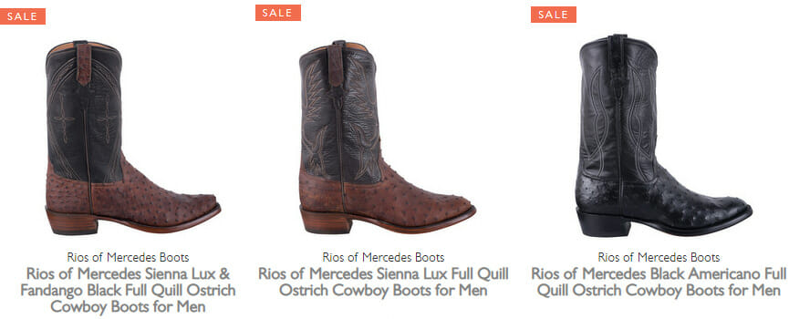 Rios Mercedes Boots Sale - More Mens Boots