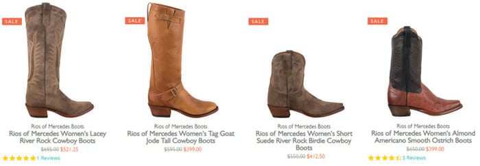 Rios Mercedes Boots Sale - Womens Boots