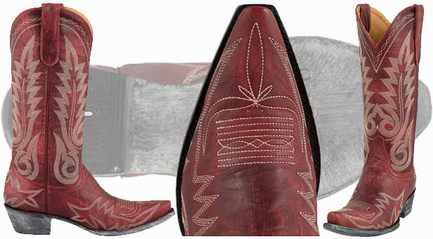 Women's Red Cowboy Boots - Old Gringo Nevada