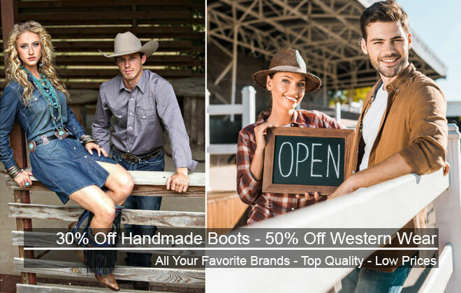 Western Wear Handmade Boots Sale Featured