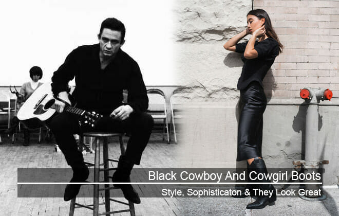 Black Cowboy Boots - Style, Sophisticaton & They Look Great!