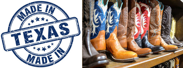 Cowboy Boots Made In Texas, USA!