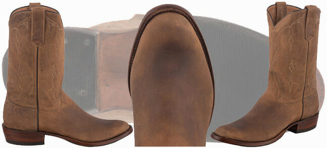 Elk Cowboy Boots - Elk Leather Boots Exclusive