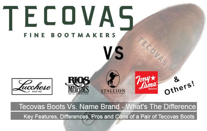 Tecovas Cowboy Boots vs Name Brand Cowboy Boots
