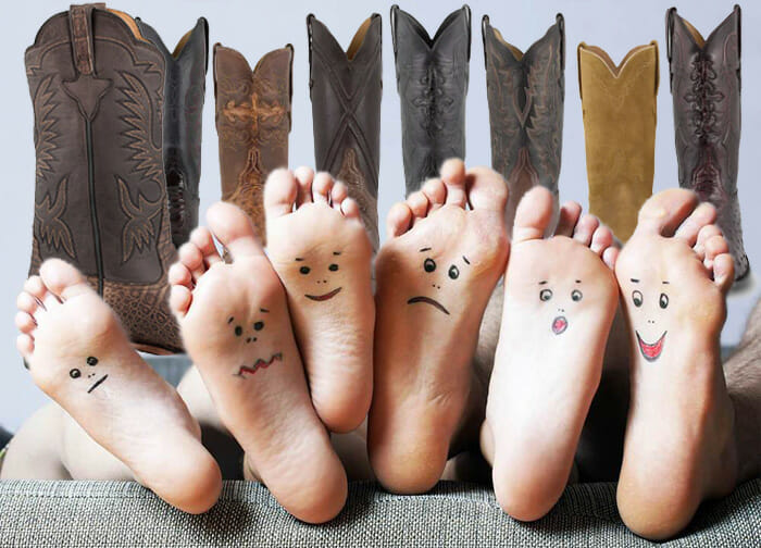 Healthy and Happy Feet with Cowboy Boots