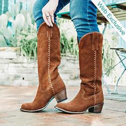 Plain Jane suede Boots