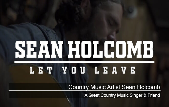 Country Music Singer Sean Holcomb